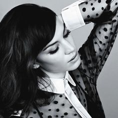 Beauty Inspiration: Alexa Chung Makeup for Glamour UK - Style Vanity