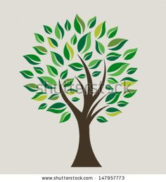 Abstract Pattern - Two Trees Whose Roots Are Woven Into A Heart Shape. Raster Version, Vector File Also Included - 172717436 : Shutterstock