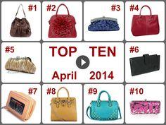 TOP 10 Deals on Handbags & Wallets (April 2014). Learn more --> https://www.facebook.com/AmazingDailyDealsSite