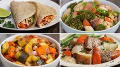 Four Freezer Prep Slow-cooker Dinner Packs Recipe by Tasty