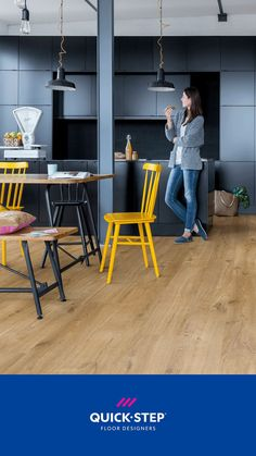 If you're looking for a floor that offers style and practicality in abundance, Alpha Vinyl is an offer you can't refuse. Its ultra-strong core and unique top layer protects against stains, scratches and impact damage, while the innovative click system ensures the most water resistant vinyl floor ever made. . 📷Quick-Step Alpha Vinyl Medium Planks 'Cotton oak natural' (AVMP40104) . #kitchen #flooring #oak #vinyl #interior Laminate Flooring, Vinyl Flooring, Kitchen Flooring, Luxury Flooring, Classic Interior, The Good Old Days, Wood Design, Types Of Wood, Plank