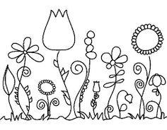 Risultati immagini per fiori   essenziali disegnati sul muro