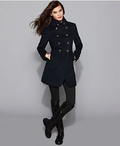 Womens wool military coat – Novelties of modern fashion photo blog