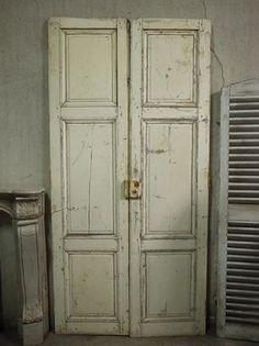 Door フランスアンティークドア白い建具ブロカント インテリア 雑貨 家具 Antique ¥136500yen 〆05月29日