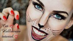 Makeup kočka / Cat Halloween makeup tutorial