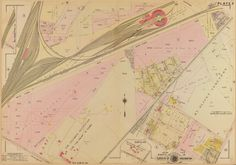1907 map of Gallaudet University