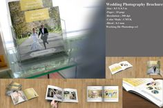 Wedding Photography Brochure-Photography marketing-INSTANT DOWNLOAD--WB-006 by TemplateStock on Etsy