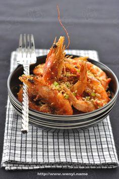 我的拿手宴客菜----椒鹽蝦(強烈推薦)
