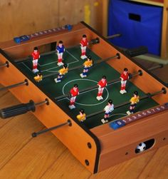 Gift Item | Tabletop Soccer. Just right for that special HOME! Send one to yourself and one to a friend, today! SOC ID 72492