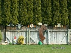 Fence peekers, my moose , patterns from Winfield collection
