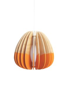 Colourful Wooden Pendant Light by MutatingCreatures on Etsy, $296.00