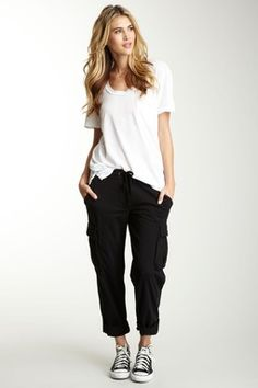 James Perse Knit Cargo Pant
