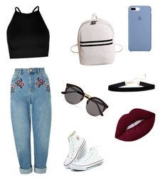 Untitled #1 by andreeaberecz on Polyvore featuring polyvore, мода, style, Boohoo, Miss Selfridge, Illesteva, fashion and clothing