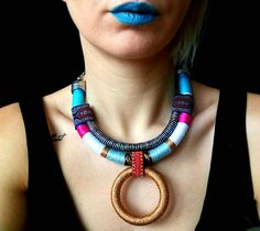 African Choker, African necklace, Statement Necklace, Choker necklace, African Jewelry, Gift For Her, Ethnic Necklace, Collier Africain