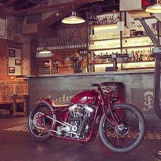 Harley by Jano Cycles(via Instagram photo by @janocycles (Jano) - via Iconosquare)