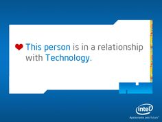 #Intel - I am sure the wife knows about this...