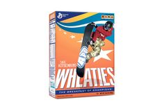 Even Olympians Can't Help Wheaties