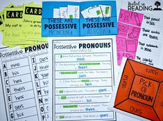 Possessive Pronoun A