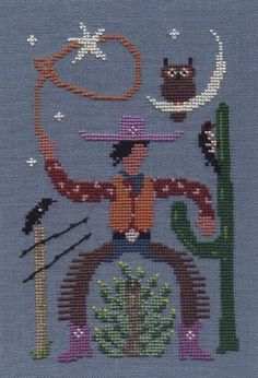 Cowboys - Cross Stitch Patterns & Kits - 123Stitch.com