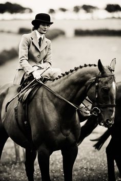 Side Saddle with the