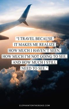 50 Travel Quotes That Will Awaken Your Adventurous Spirit. Reasons to Travel. Elephant on the Road citation 50 Travel Quotes That Will Awaken Your Adventurous Spirit — Elephant On The Road Good Quotes, New Quotes, Inspirational Quotes, Swag Quotes, Wisdom Quotes, Motivational Quotes, Qoutes, Friend Quotes, Meaningful Quotes