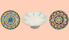 Non c'è blu senza il giallo e senza l'arancione. (Vincent Van Gogh) #CeramicheSberna #CeramicheDeruta