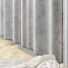 Marble panels for interiors - Chiffon Interior Cladding, Wall Cladding, Interior Walls, Interior Architecture, Marble Columns, Marble Wall, Facade Design, Wall Design, Modern Apartment Design