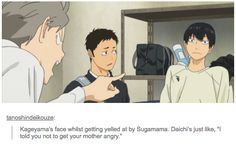 """""""i told you not to get your mother angry"""" LOL Haikyuu!!"""