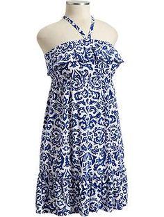 Cute Old Navy Ruffled Dress <3