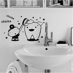 Cartoon Wall Stickers Plane Wall Stickers Decorative PVC Material…