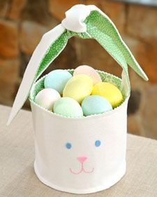 Bunny Basket | Step-by-Step | DIY Craft How To's and Instructions| Martha Stewart