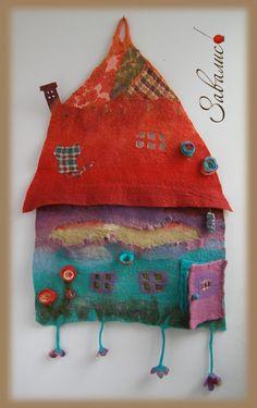 Настенный коврик Зеленый домик