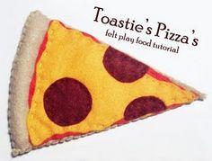 Felt Pizza slice tutorial