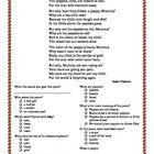 A comprehension sheet to accompany a simple Anzac Day poem by an unknown author: Why are they selling poppies, Mummy?The worksheet has a copy of ...