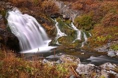 waterfall, Altay, photo: Andrey Kochkin