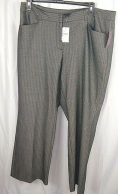 f3627654cad81 Lane Bryant Women Plus Size 20 Relaxed Fit Houston Classic Trouser New  $59.95 #LaneBryant #