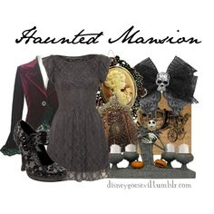 """Haunted Mansion"" by disney-villains on Polyvore"