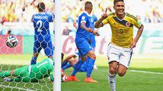 #Colombia (3) #Grecia (0)  #VamosColombia #Brasil2014 - #FIFA.com  Teofilo G