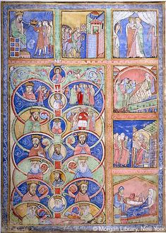 Psalter, MS M.724v - Images from Medieval and Renaissance Manuscripts - The Morgan Library & Museum