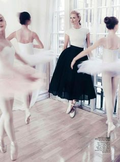 Sarah Murdoch by Steven Chee for Vogue Australia August 2014