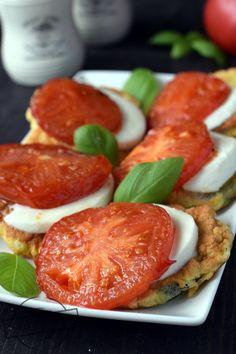 Snack Recipes, Cooking Recipes, Snacks, Caprese Salad, Mozzarella, Grilling, Lunch, Vegan, Fitness