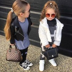 Lil fashionista via @fashionovely