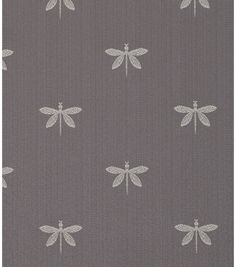 A delicate, intricate dragonfly motif with lots of details on a subtle strie satin ground.  Content: 64% Cotton/36% Polyester Width: 54 Inches Fabric Type: Print Upholstery Grade: MEDIUM UPHOLSTERY