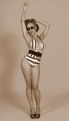 Pin-Up Bathing Suit hot hot hot
