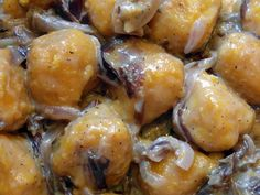 """Gnocchi con """"radicio e segoea"""" – Vegan blog – Ricette Vegan – Vegane – Cruelty Free"""