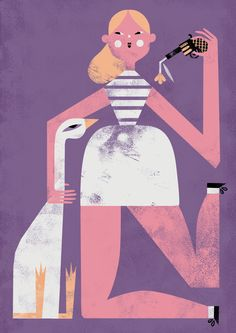 NANNA Illustration - The goose story