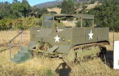 WW2 M5 artillery tractor