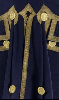 Royal Naval uniform: pattern 1787 - National Maritime Museum