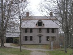 The Old Manse in Concord, Massachusetts, is a historic manse famous for its American literary associations. It was built in 1770 for Rev. Wm. Emerson, father of minister Rev. Wm. Emerson & grandfather of transcendentalist writer and lecturer Ralph Waldo Emerson. The elder Emerson was the town minister in Concord, chaplain to the Provincial Congress when it met at Concord in October 1774 & later a chaplain to the Continental Army.
