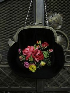 http://www.aliexpress.com/store/1687168 Beautiful purse with ribbon embroidery.